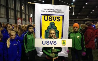 Nítján keppendur frá USVS á Unglingalandsmót
