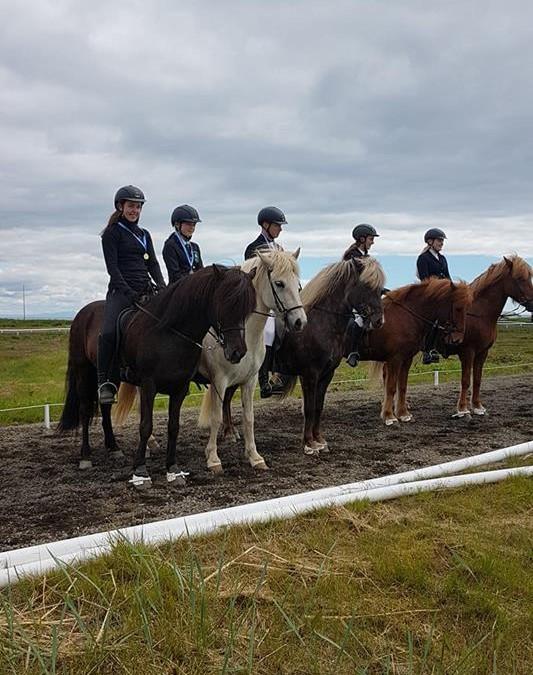 Verðlaunarhafar á Unglingalandsmóti 2018